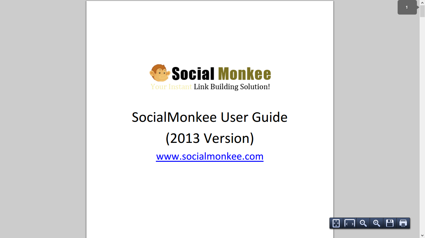 Social Monkee Is NOT For 2013