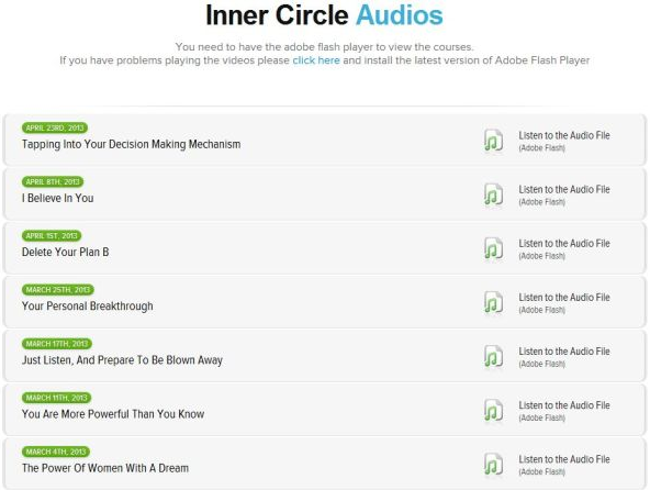 Inner Circle Unhelpful Tutorials