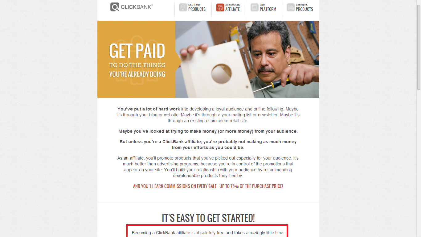 Clickbank Is Free