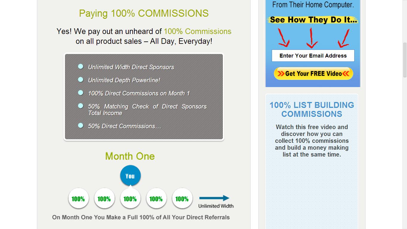 100% Commissions?