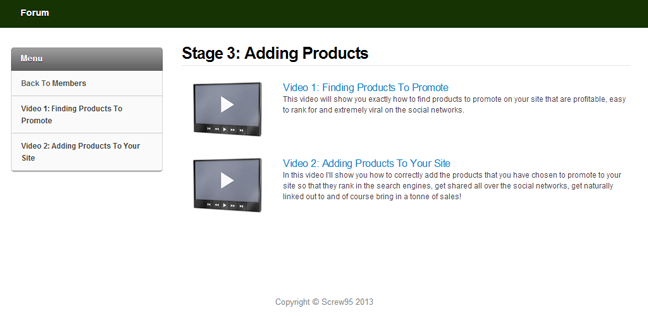 stage 3: adding products