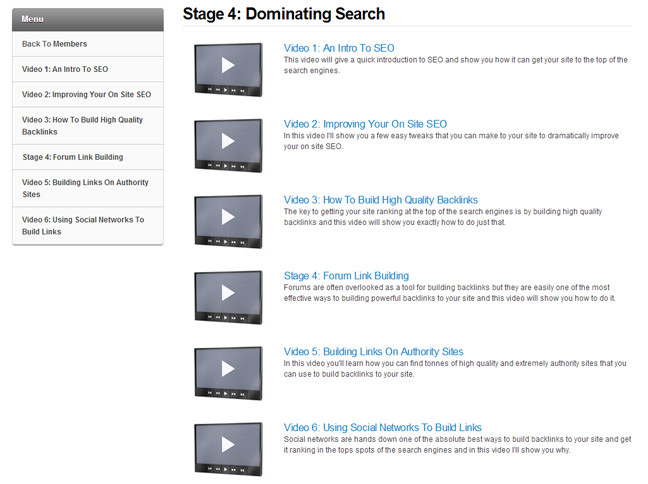 stage 4: dominating search